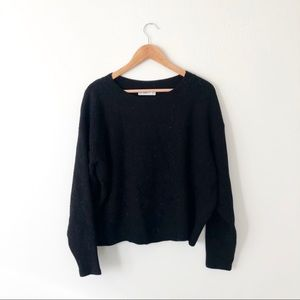 Zara Black Soft Thick Sweater
